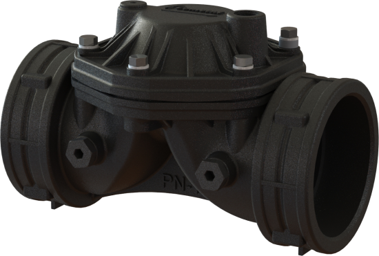 Line plastic valves